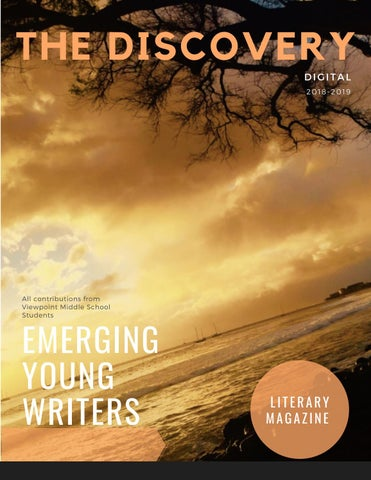 The Discovery--Viewpoint's Middle School Literary Magazine