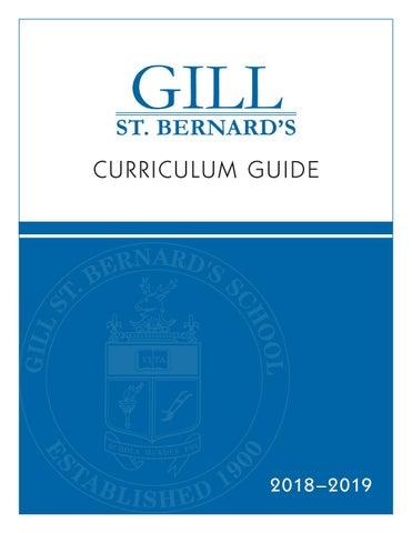 GSB Curriculum Guide 2018-2019 by Gill St  Bernard's School - issuu