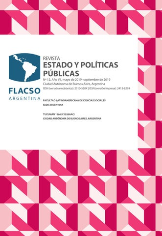 b62f36808a Revista Estado y Políticas Públicas Nº12 by Emiliano - issuu