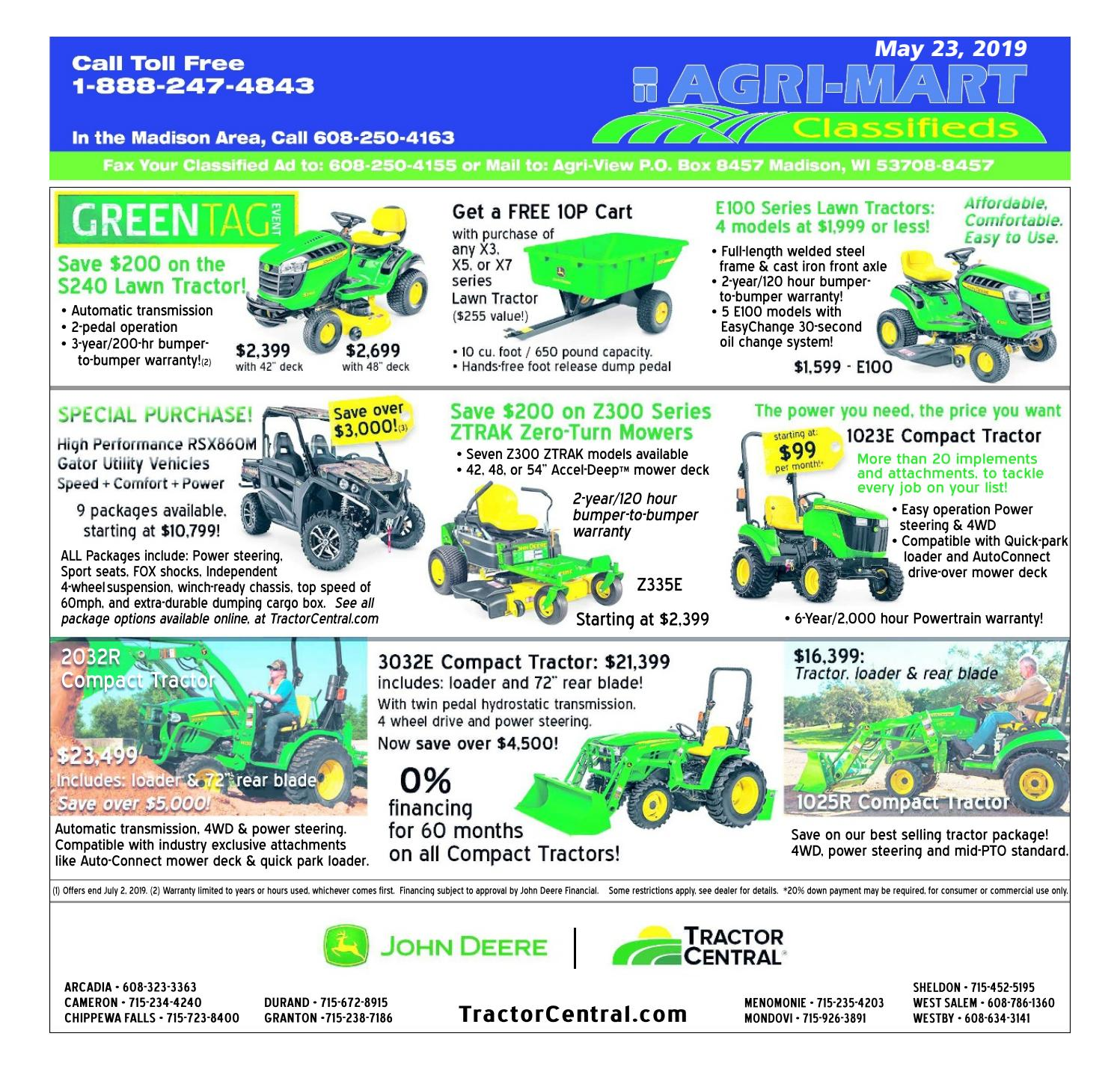 May 23, 2019 AgriMart by Madison com - issuu