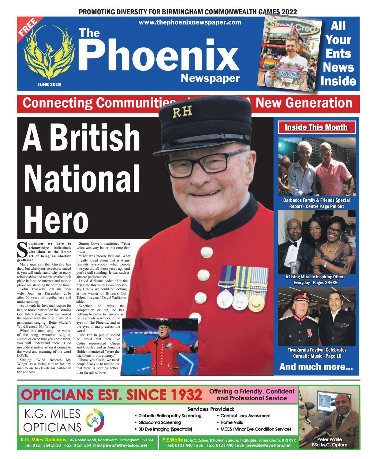 The Phoenix Newspaper - June 2019 by The Phoenix Newspaper