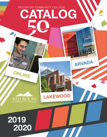 RRCC 2019-2020 Catalog by Red Rocks Community College - issuu