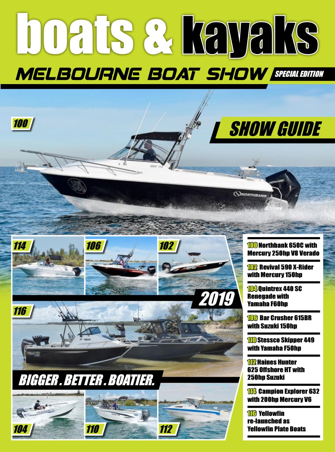 Melbourne Boat Show Guide 2019 by Fishing Monthly - issuu