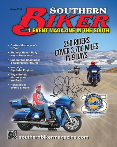 Southern Biker Magazine June 2019 issue by Kristin Gracy - issuu