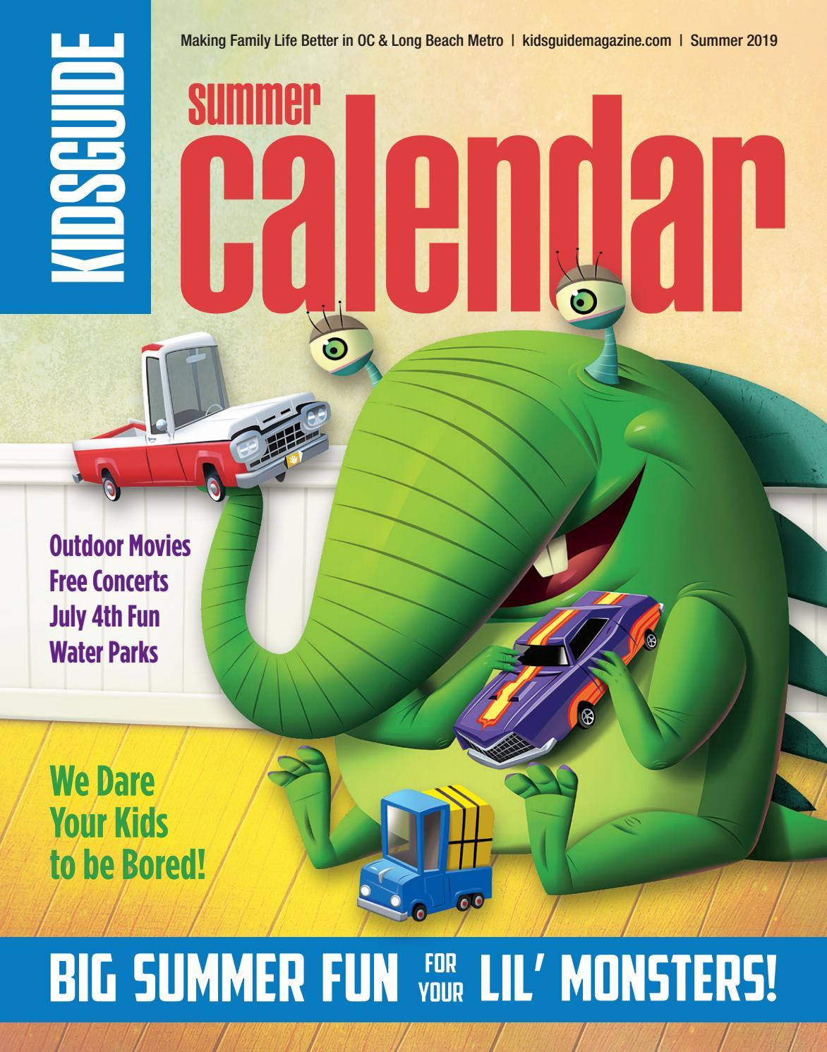 Kidsguide Summer Calendar 2019 By Kidsguide Issuu