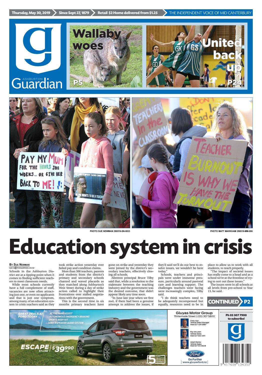 Ashburton Guardian, Thursday, May 30, 2019 by Ashburton