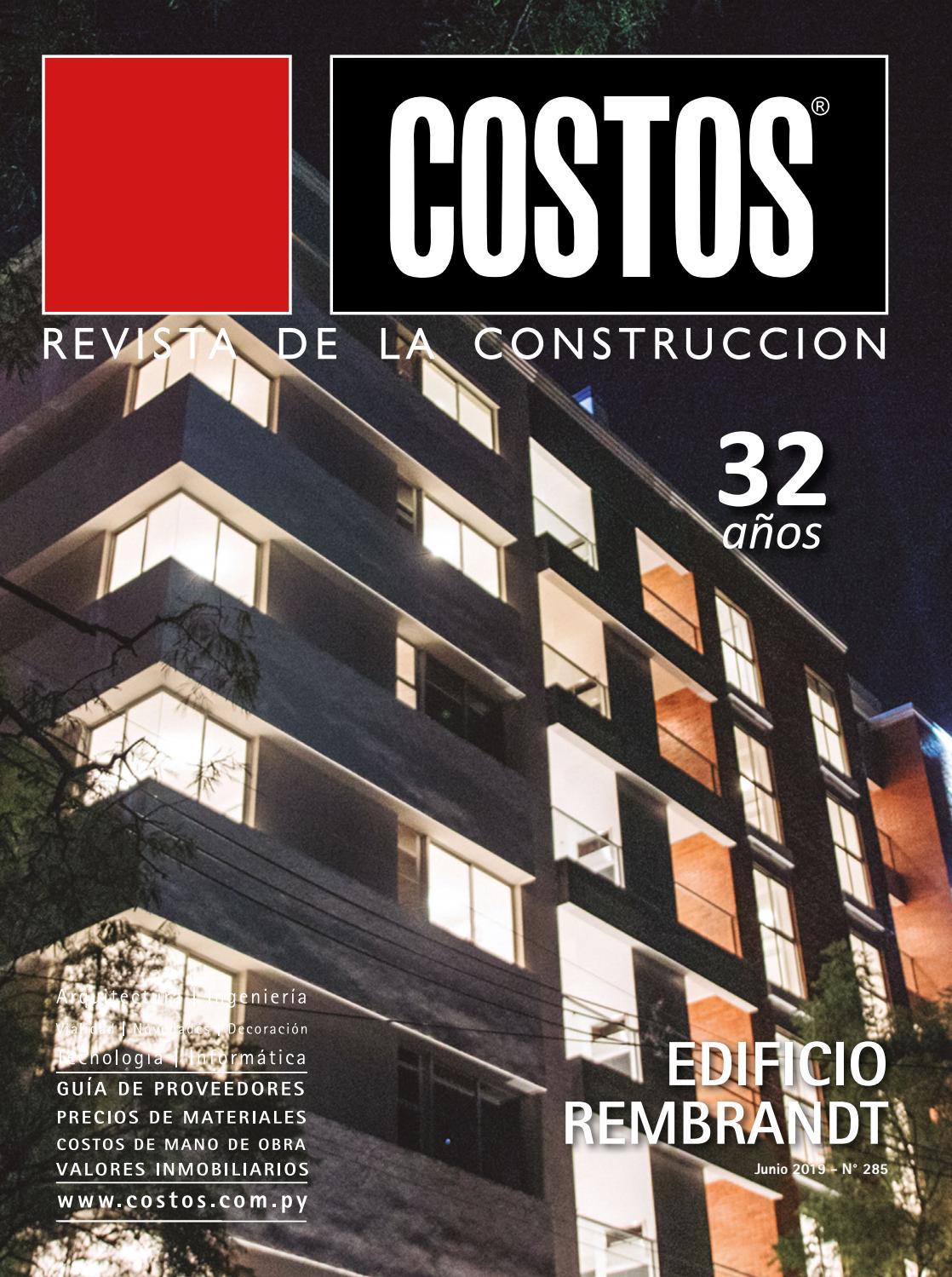 gaviones decorativos para el jard n asador y parrilla Edición #285 - Junio 2019 by Revista Costos (Paraguay) - issuu