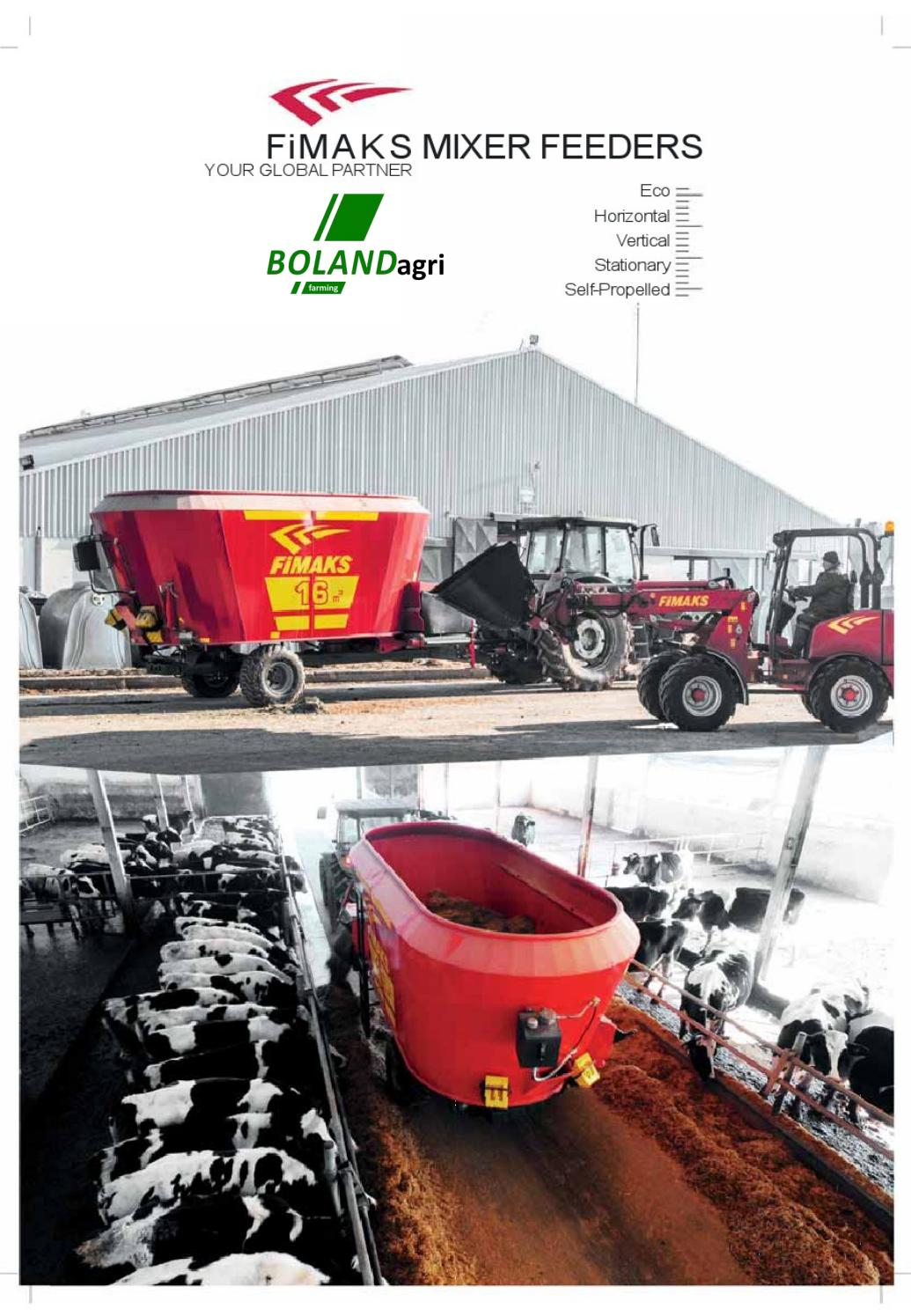 FIMAKS FEED MIXERS by Bolandagri Farming - issuu
