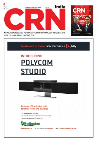 CRN India (Vol 2, No 3) June, 2019 by Indian Express - issuu