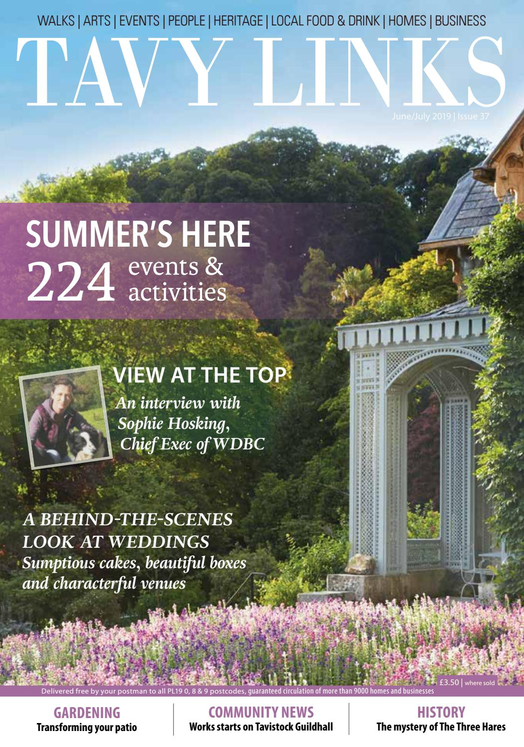 Tavy Links June July 2019 By Links Magazines Issuu