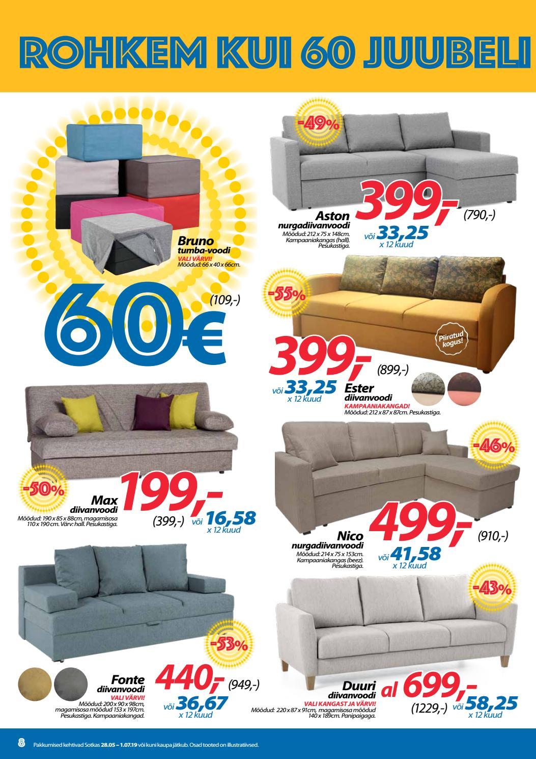 570bd984876 Sotka on 60! Juubelipakkumised ootavad Sind! Palju tooteid -60% või 60€ by  Indoor Group AS - issuu