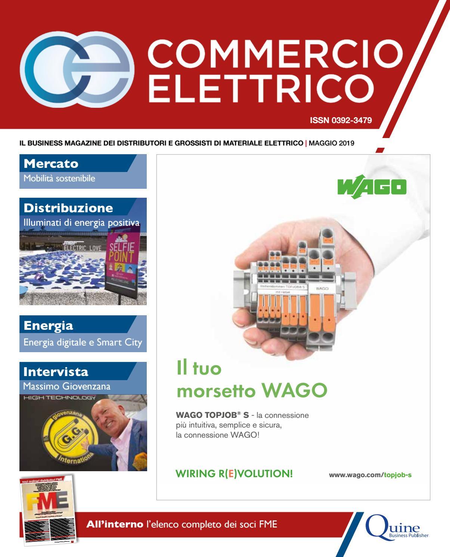 Commercio Elettrico N 4 Maggio 2019 By Quine Business Publisher Issuu