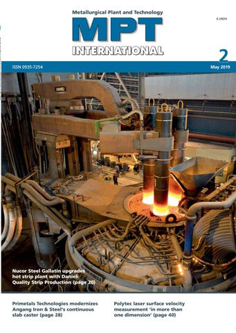 MPT International 2/2019 (May) by MPT Metallurgical Plant and