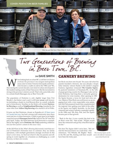 Page 12 of Two Generations of Brewing in Beer Town BC