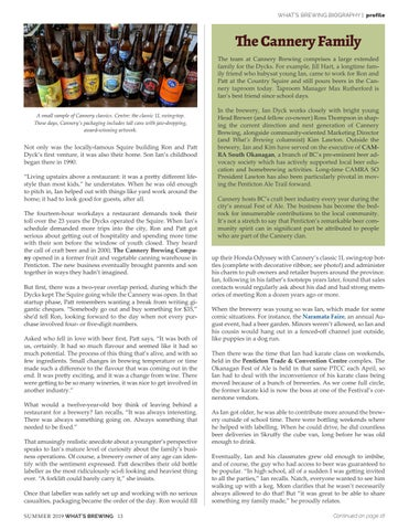 Page 13 of Two Generations of Brewing in Beer Town BC