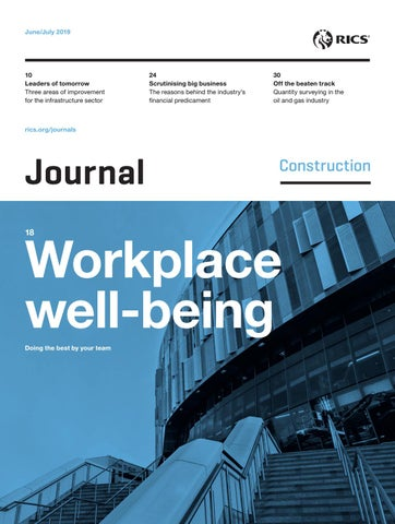 Construction Journal: June–July 2019 by RICS - issuu