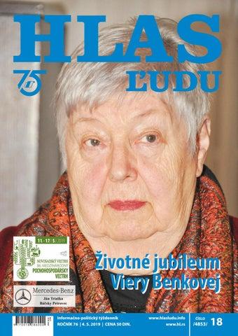 a21397f55 Hlas ludu 18/2019 by NVU Hlas ľudu - issuu
