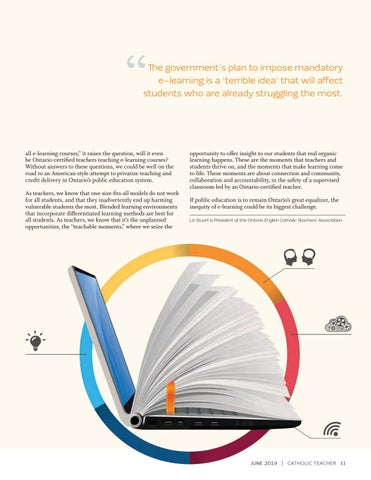 Page 11 of MANDATORY E-LEARNING NOT FOR EVERYONE By Liz Stuart