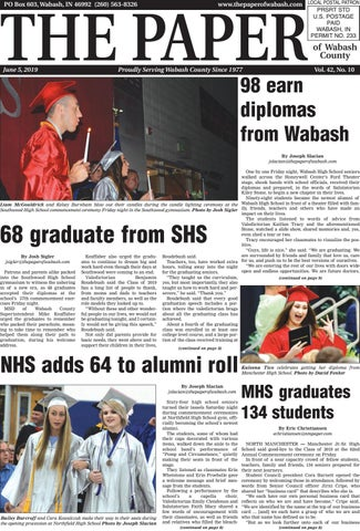 The Paper of Wabash County - June 5, 2019 Issue by The Paper of