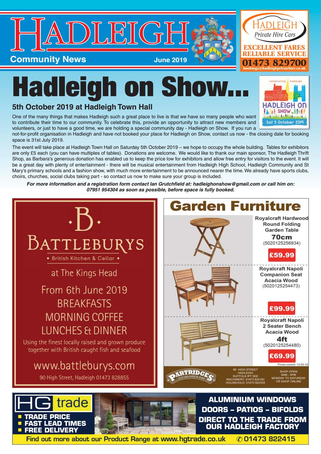 Hadleigh Community News, June 2019 by Keith Avis Printers