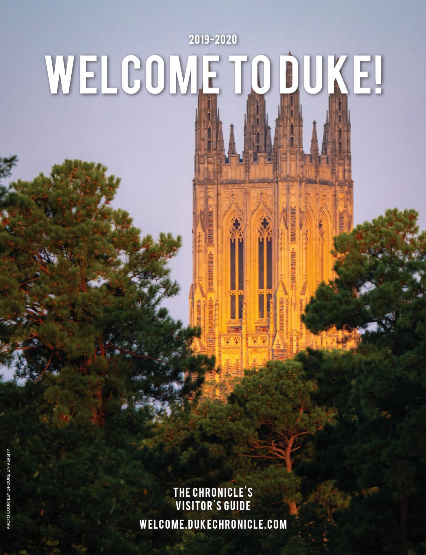 Welcome to Duke 2019 by Duke Chronicle - issuu