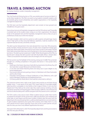Page 16 of TRAVEL & DINING AUCTION