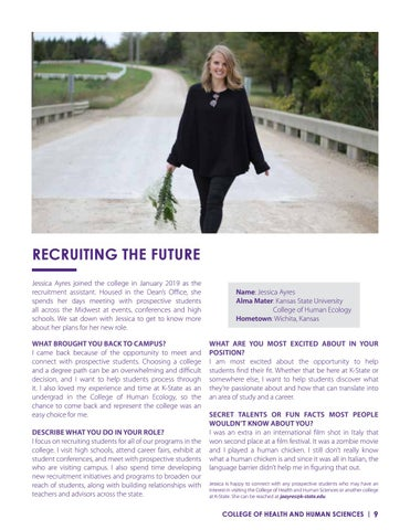 Page 9 of Recruiting the Future