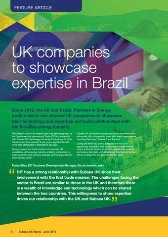 Page 6 of UK Companies to Showcase Expertise in Brazil