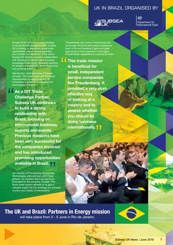 Page 7 of UK Companies to Showcase Expertise in Brazil