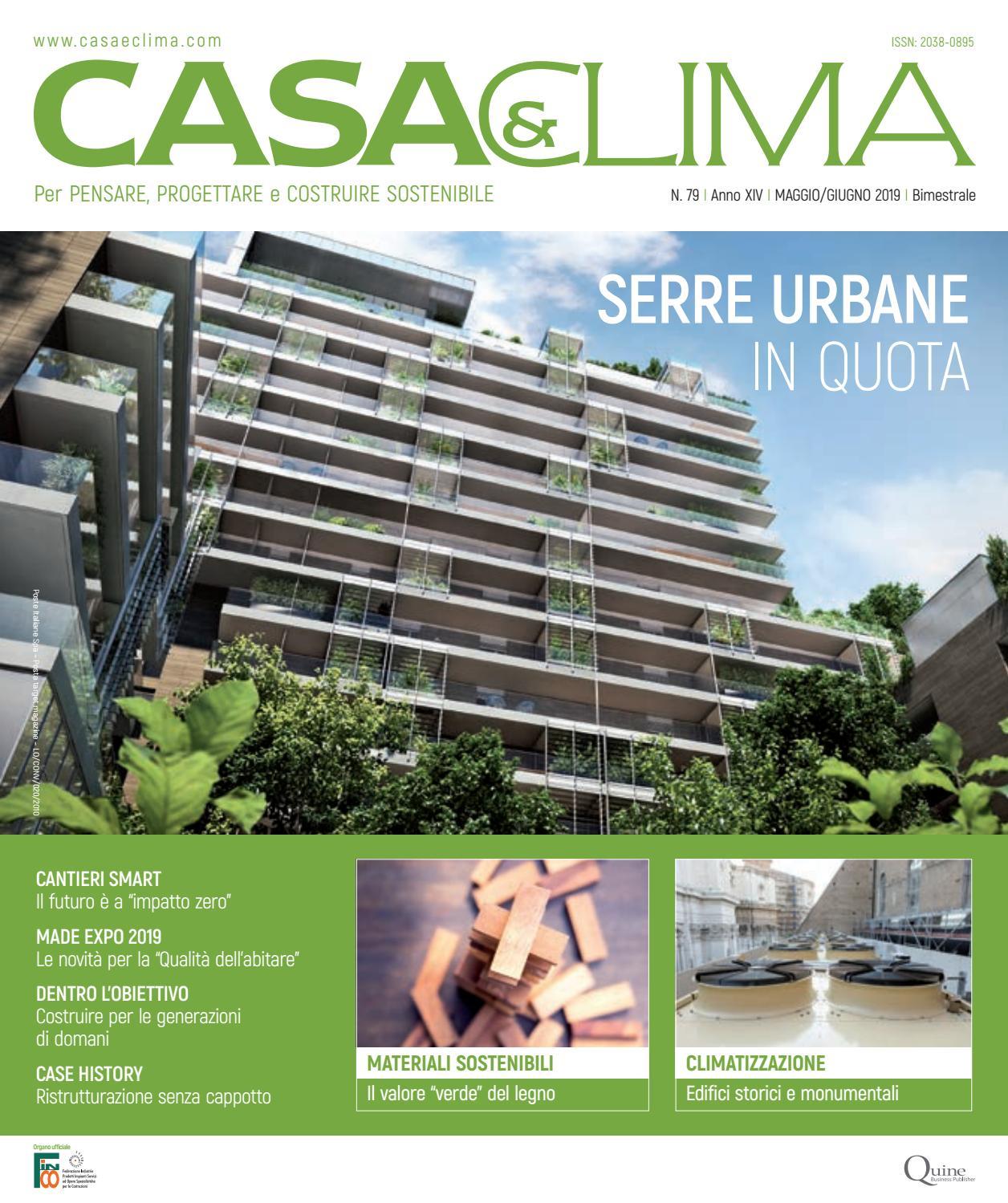 Serra Bioclimatica Normativa Lombardia casa&clima #79 by quine business publisher - issuu