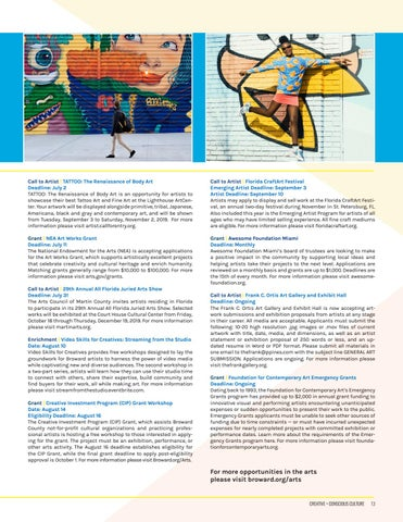 Page 13 of OPPORTUNITIES IN THE ARTS
