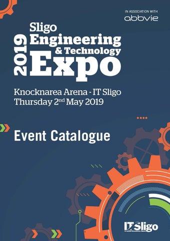 Sligo Engineering & Technology Expo 2019 Event Catalogue by