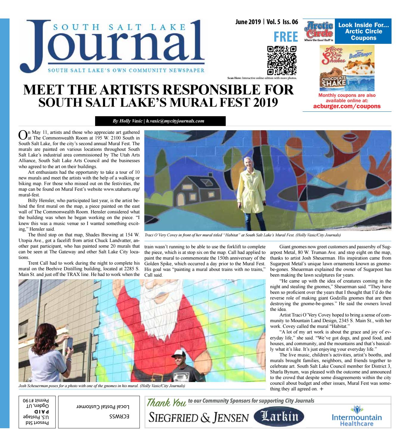South Salt Lake Journal June 2019 by The City Journals - issuu