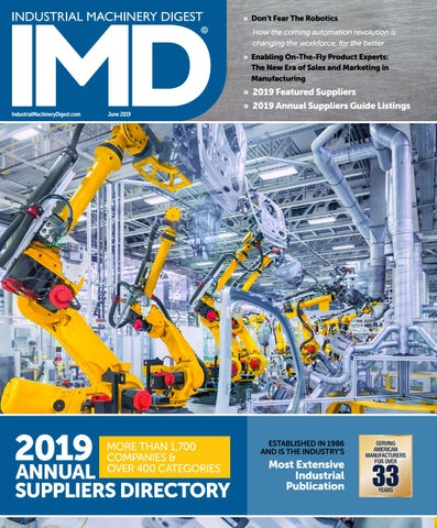 Industrial Machinery Digest's 2019 Annual Suppliers Directory by