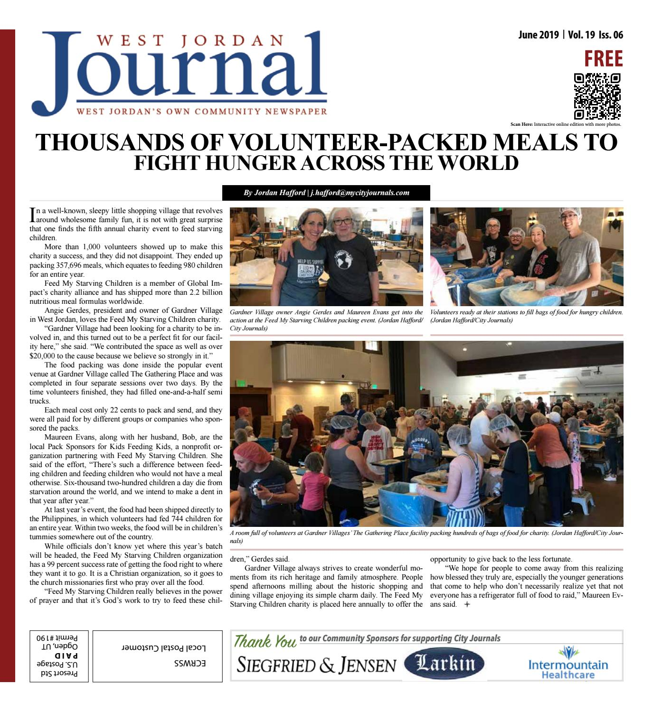 14e3d5ffe West Jordan Journal June 2019 by The City Journals - issuu