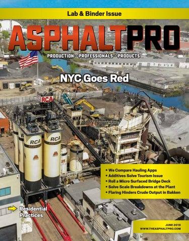 Asphalt Pro - June 2019 by Asphalt Pro LLC - issuu