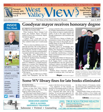 West Valley View: North 06 - 05 - 2019 by Times Media Group