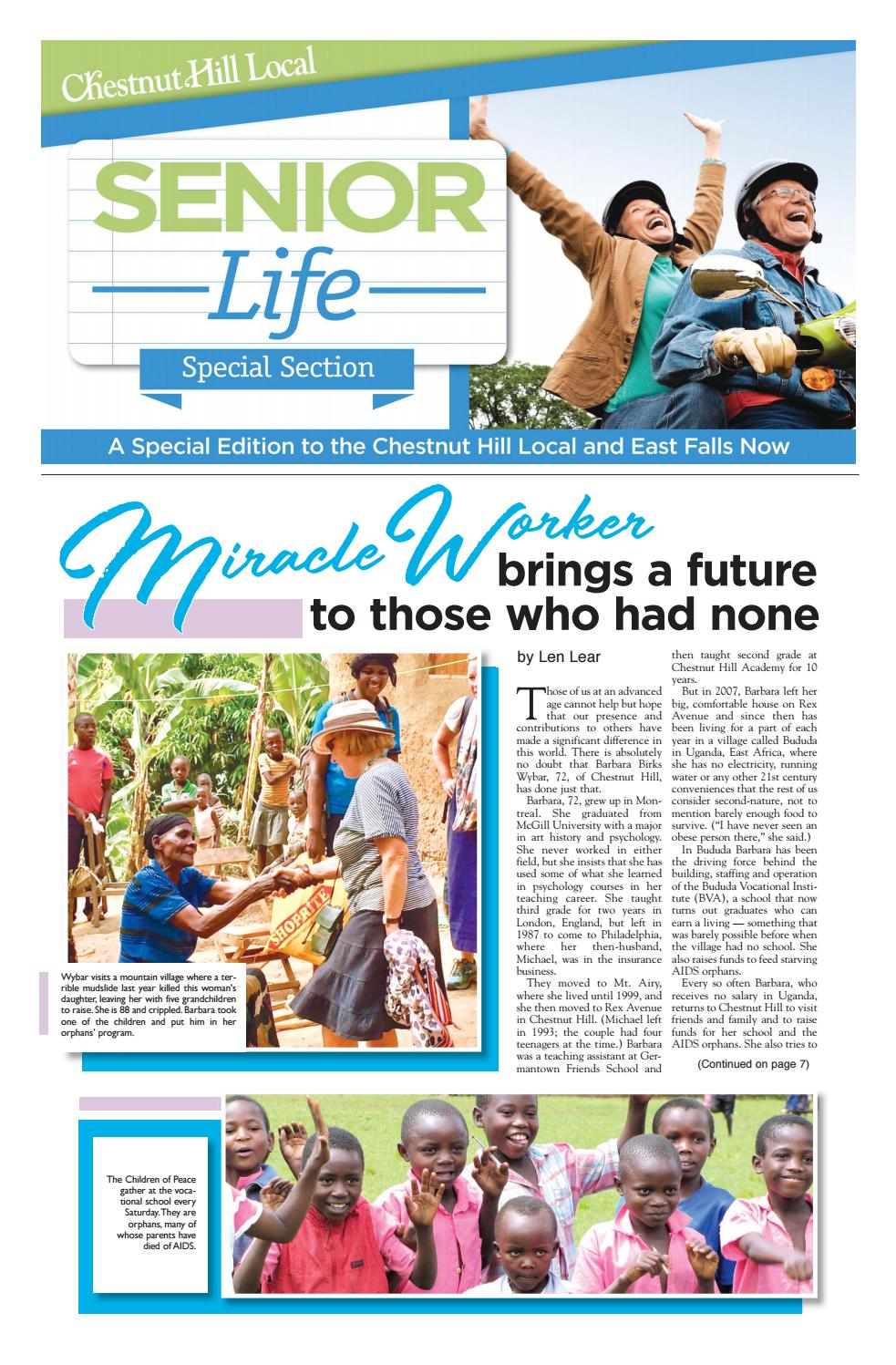 Senior Life June 2019 by The Chestnut Hill Local - issuu