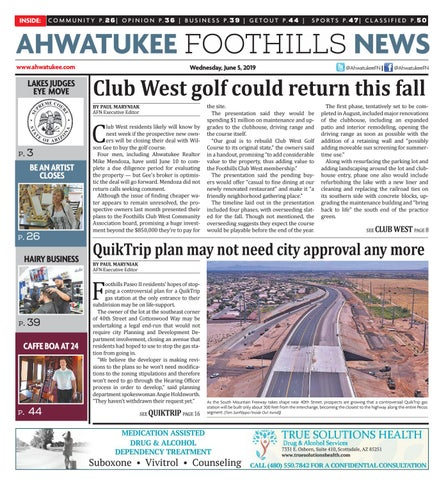 Ahwatukee Foothills News - June 05, 2019 by Times Media