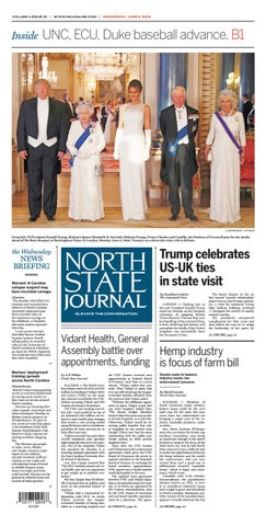 North State Journal Vol  4, Issue 15 by North State Journal