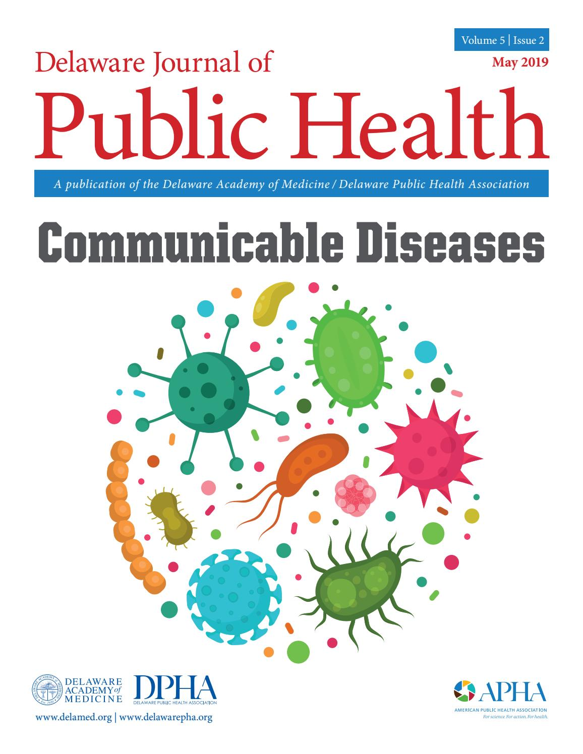 Delaware Journal of Public Health - Communicable Disease by Delaware