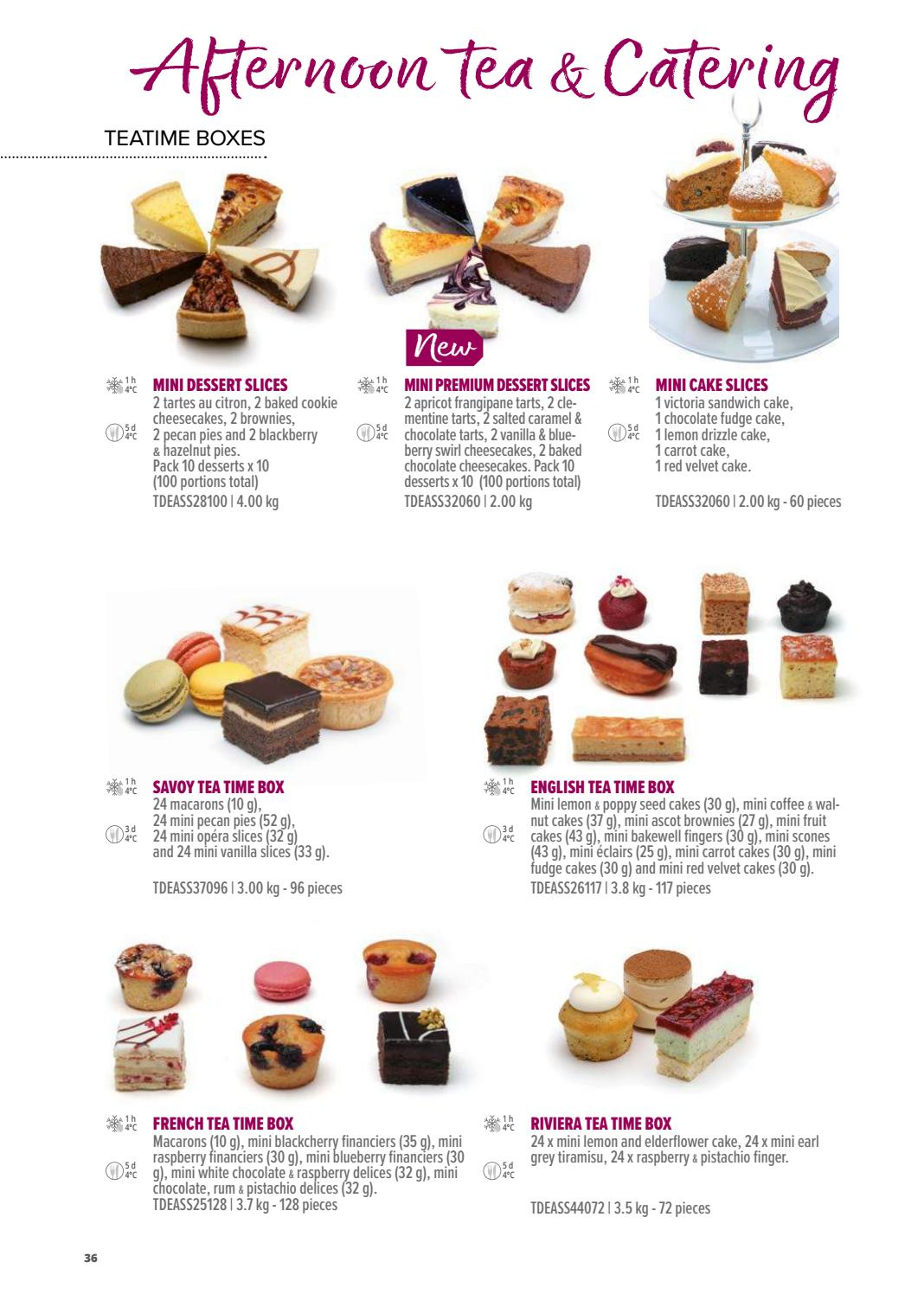 Catalogue 2019 Angleterre by La Compagnie des Desserts - issuu