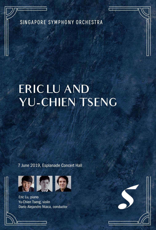 Eric Lu & Yu-Chien Tseng by Singapore Symphony - issuu