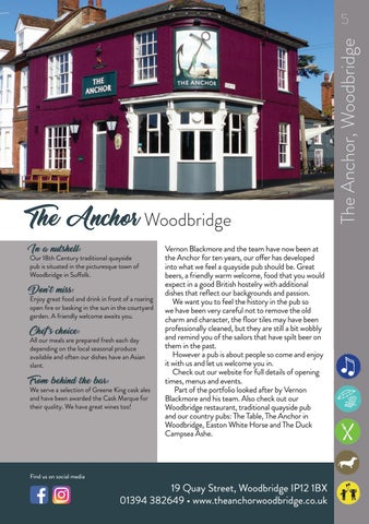 Page 5 of The Anchor, Woodbridge