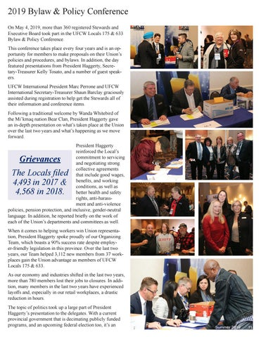 Page 11 of 2019 Local Union Bylaw & Policy Conference
