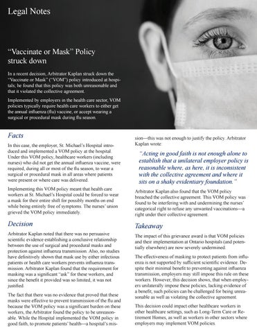 Page 23 of 'Vaccinate or mask' policy struck down