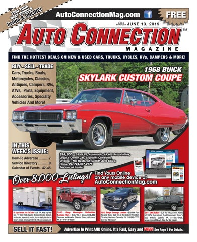 06-13-19 Auto Connection Magazine by Auto Locator and Auto