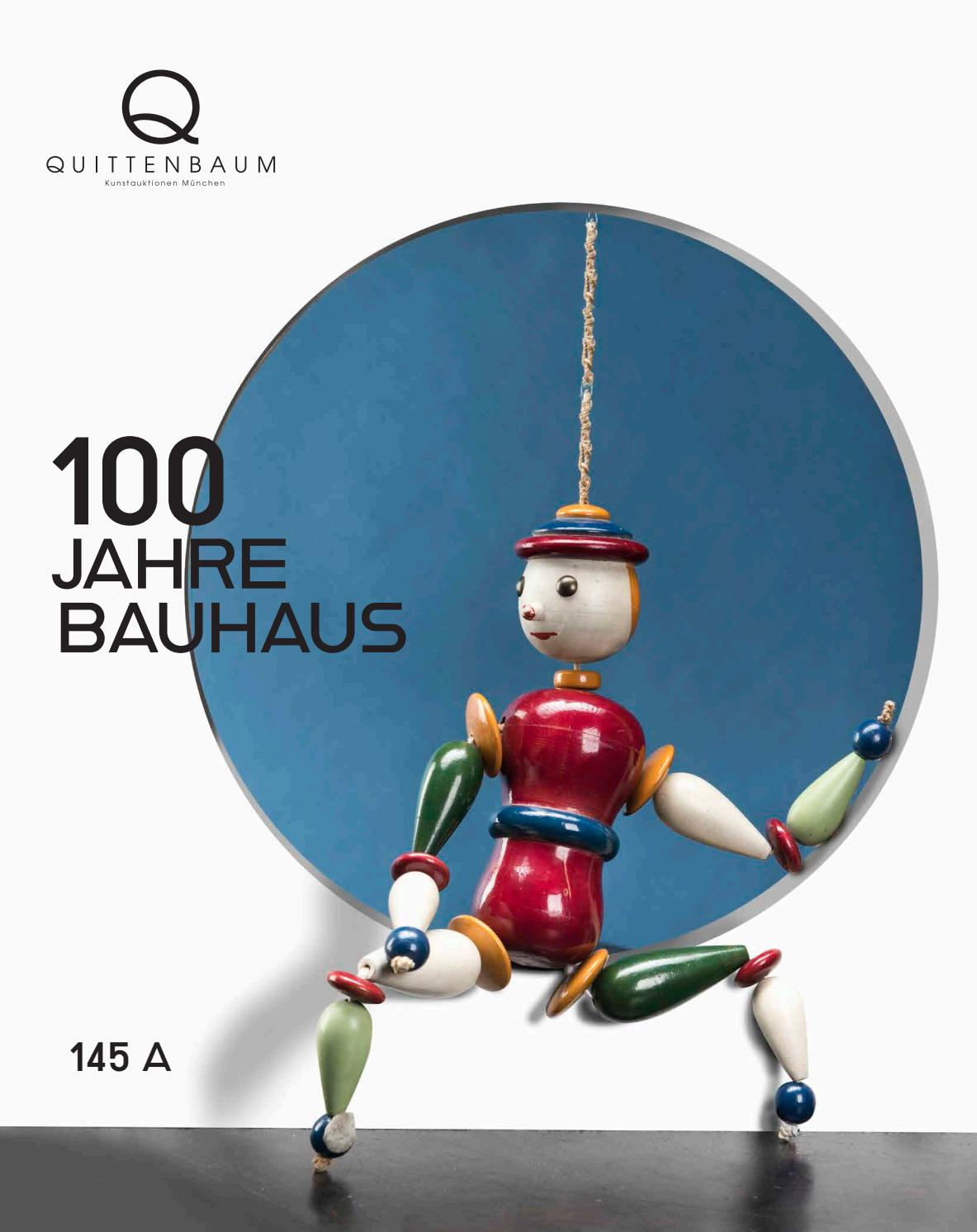 Auction 145a 100 Years Of Bauhaus Quittenbaum Art Auctions By