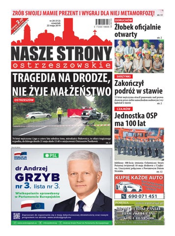 fa7b9019b4ea3c NASZE STRONY OSTRZESZOWSKIE 20/2019 by Nasze Strony Ostrzeszowskie ...