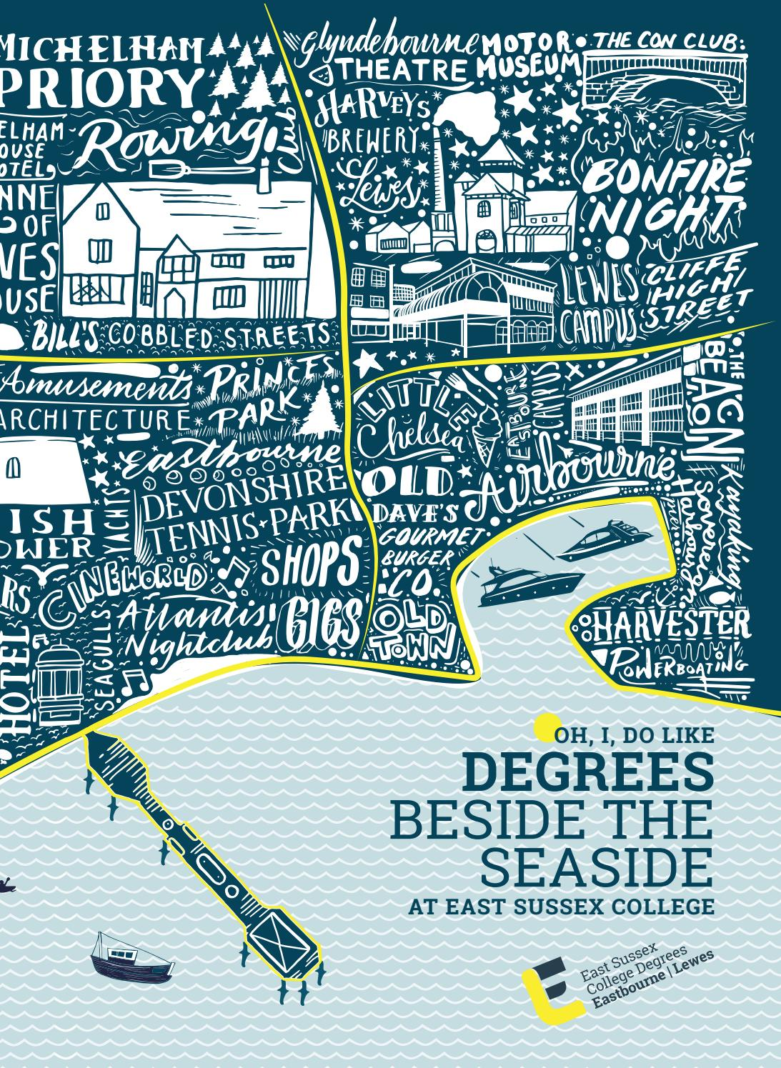 East Sussex College Degrees Eastbourne And Lewes Prospectus 2020 21 By East Sussex College Issuu